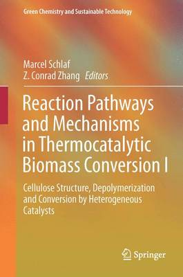 Reaction Pathways and Mechanisms in Thermocatalytic Biomass Conversion I: Cellulose Structure, Depolymerization and Conversion by Heterogeneous Catalysts - Green Chemistry and Sustainable Technology (Hardback)