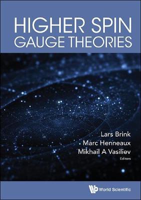 Higher Spin Gauge Theories (Hardback)