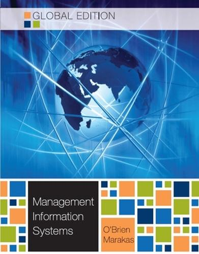 MANAGEMENT INFORMATION SYSTEMS 10E (Paperback)