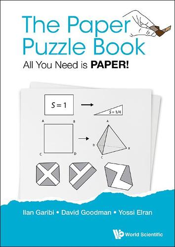Paper Puzzle Book, The: All You Need Is Paper! (Paperback)
