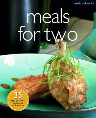 Mini Cookbook: Meals for Two (Paperback)