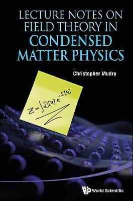 Lecture Notes On Field Theory In Condensed Matter Physics (Hardback)
