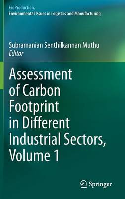 Assessment of Carbon Footprint in Different Industrial Sectors, Volume 1 - EcoProduction (Hardback)