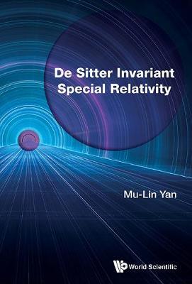 De Sitter Invariant Special Relativity (Hardback)