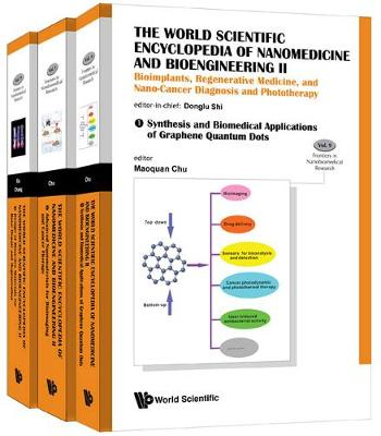 World Scientific Encyclopedia Of Nanomedicine And Bioengineering Ii, The: Bioimplants, Regenerative Medicine, And Nano-cancer Diagnosis And Phototherapy (A 3-volume Set) - Frontiers in Nanobiomedical Research 9 (Hardback)