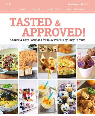Tasted & Approved!: A Quick & Easy Cookbook for Busy Parents by Busy Parents (Paperback)