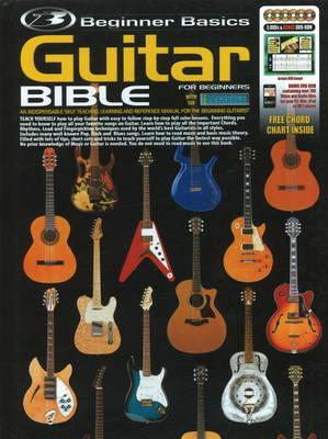 Beginner Basics Guitar Bible (Paperback)