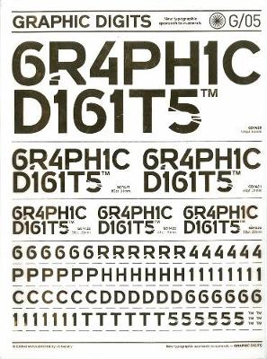 Graphic Digits: Interpreting Numbers in Graphic Form (Paperback)