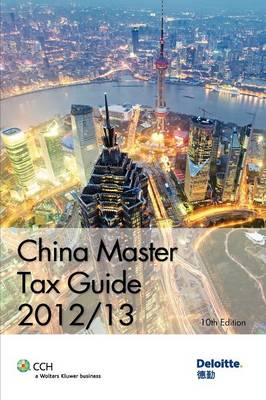 China Master Tax Guide 2012/13 (Paperback)