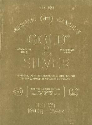 Palette 03: Gold & Silver: New Metallic Graphics - PALETTE (Paperback)