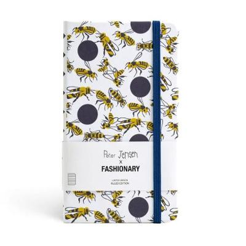 Peter Jensen X Fashionary Polka Bee Ruled Notebook A6
