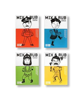 Mix & Rub: People: Styling characters with endless fun