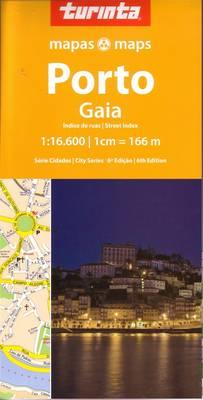 Porto: Gaia - City Series No. 4 (Sheet map, folded)