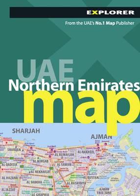 UAE Northern Emirates Map - City Map (Paperback)