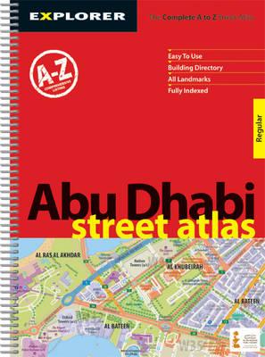 Abu Dhabi Street Atlas ( Regular ): Auh_atr_1 - City Atlases S. (Paperback)