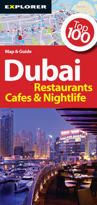 Dubai Restaurant Map: Dxb_res_1 - Tourist Maps (Paperback)