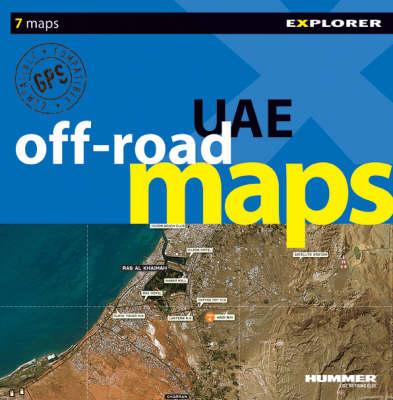 UAE Off-road Maps - Off Road Image Maps (Paperback)