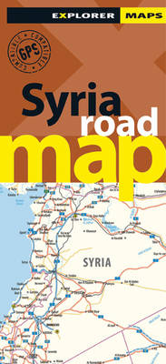 Syria Road Map - Road Maps (Paperback)
