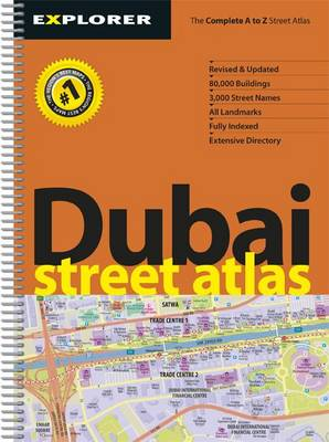 Dubai Street Atlas (Sheet map, folded)