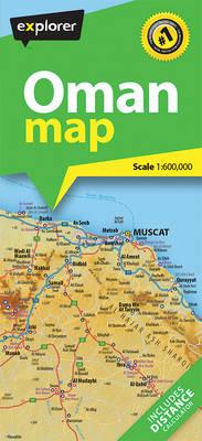 Oman Map (Sheet map, folded)