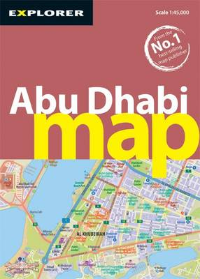 Abu Dhabi Map: Auh_map_3 - City Map (Sheet map, folded)