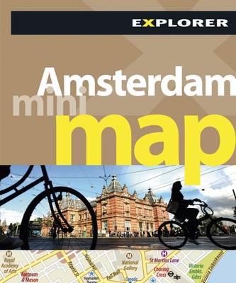 Amsterdam Mini Map Explorer - Mini Maps (Paperback)