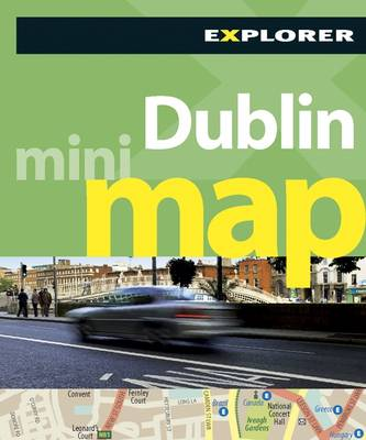 Dublin Mini Map Explorer - Mini Maps (Paperback)