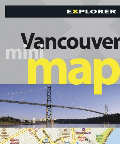 Vancouver Mini Map Explorer - Mini Maps (Paperback)