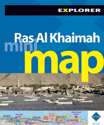 Ras Al Khaimah Mini Map - Mini Maps (Sheet map, folded)