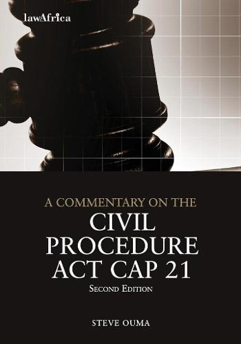 Commentary on the Civil Procedure ACT (Paperback)