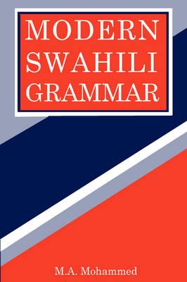 Modern Swahili Grammar (Paperback)