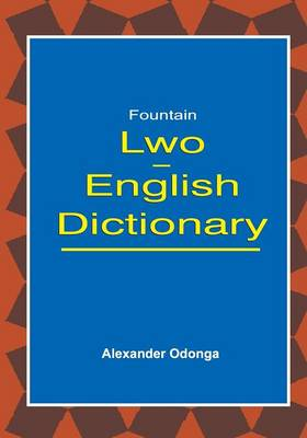 Lwo English Dictionary (Paperback)