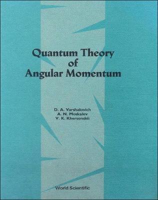 Quantum Theory Of Angular Momemtum (Hardback)