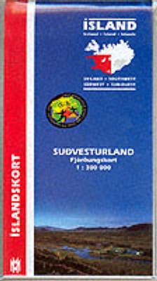 Iceland: South West - Maps of Iceland (Sheet map, folded)