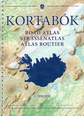 Iceland Road Atlas, with Town Plans, 2016-2017: 1:300,000 2016 (Paperback)