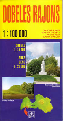 Dobeles Rajons - Regional Maps of Latvia S. (Sheet map, folded)