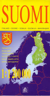 Finland (Suomi) - Road Maps (Sheet map, folded)