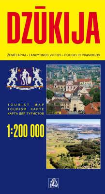 Dzukija: South East Lithuania - Tourist Maps of Lithuania S. (Sheet map, folded)
