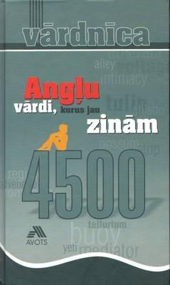 Anglu Vardi Kurus Jau Zinam: 4500 Words (Hardback)