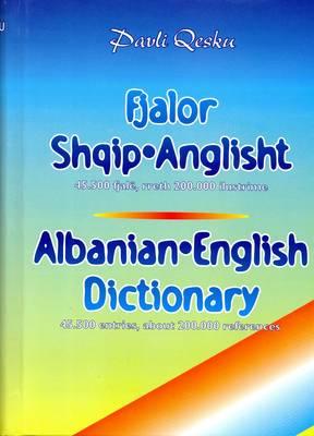 Albanian-English Dictionary (Hardback)