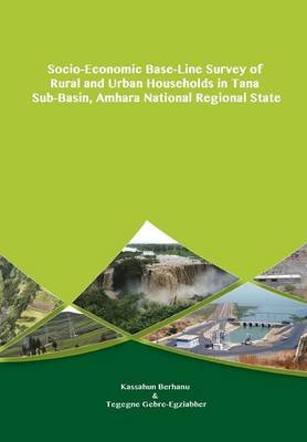 Socio-Economic Base-Line Survey of Rural and Urban Households in Tana Sub-Basin, Amhara National Regional State (Paperback)