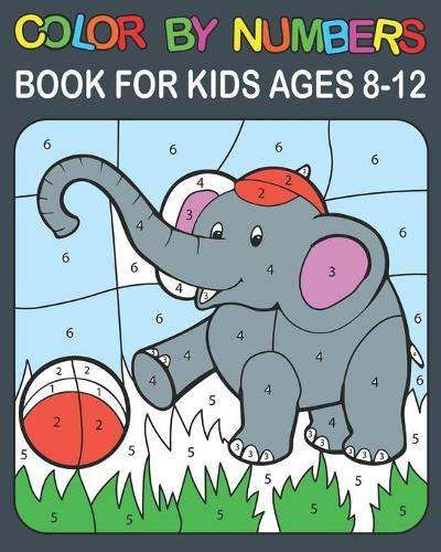 Color By Numbers book For Kids Ages 8-12: 50 Animal Birds, Flowers Themed Coloring Pages for Children Ages 8-12 (Paperback)