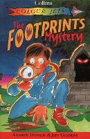 The Footprints Mystery - Colour Jets (Paperback)