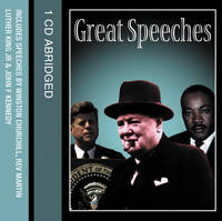 Great Speeches (CD-Audio)