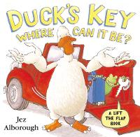 Duck's Key - Where Can It Be?: Flap Book (Paperback)