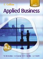 A2 for AQA Student's Book - Collins Applied Business (Paperback)