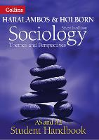 Sociology Themes and Perspectives Student Handbook: As and A2 Level - Haralambos and Holborn (Paperback)