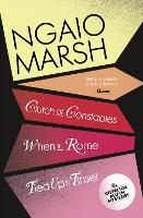 Clutch of Constables / When in Rome / Tied Up In Tinsel - The Ngaio Marsh Collection 9 (Paperback)