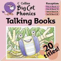 Phonics: Phonics Band 01 Pink - 02 Red - Collins Big Cat Audio (CD-Audio)