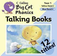 Phonics: Phonics Band 03 Yellow - 04 Blue - Collins Big Cat Audio (CD-Audio)